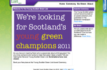 Young Scottish Green List