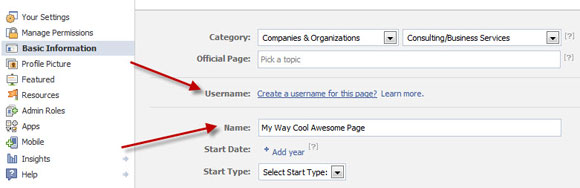 Facebook Claiming Your Name